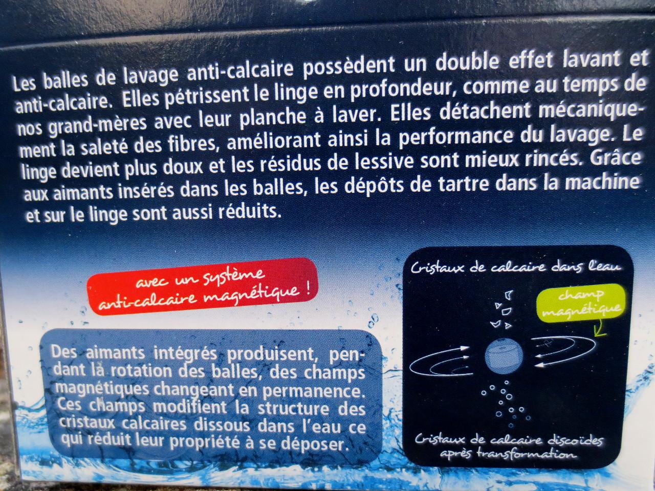 Balles de lavage anti calcaires 3