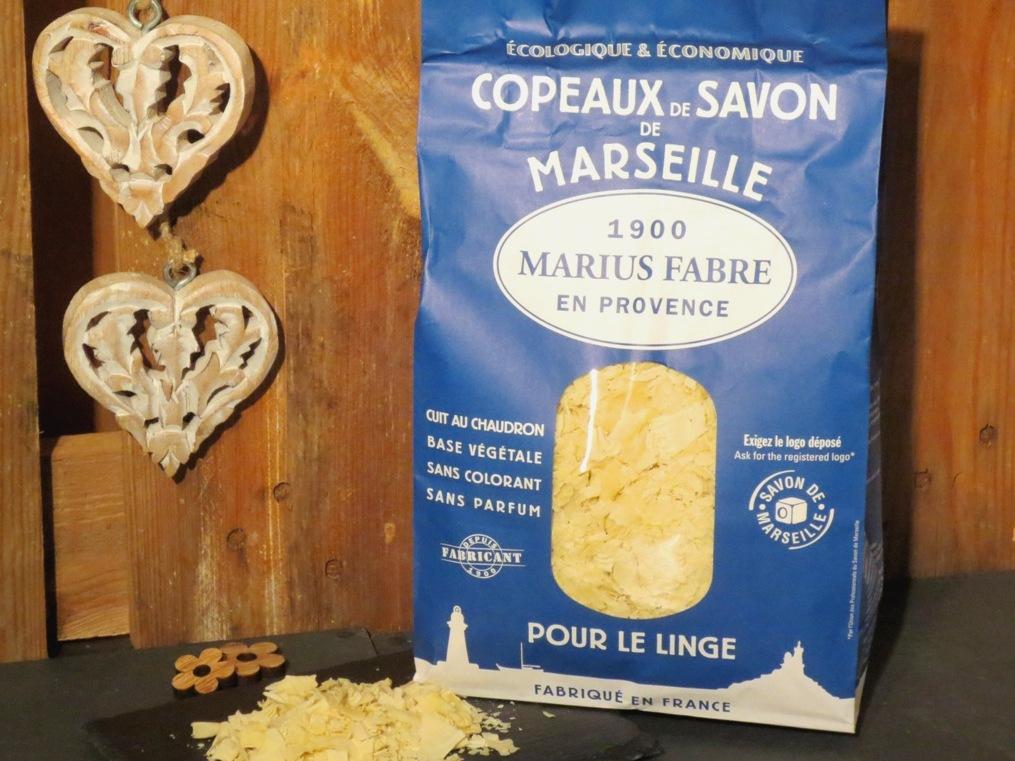 Copeaux de savon de marseille vrai - Savon de marseille vrai ...