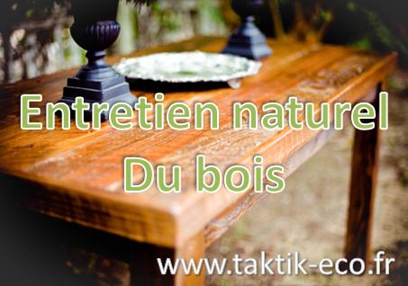 Entretien naturel du bois photo presentation