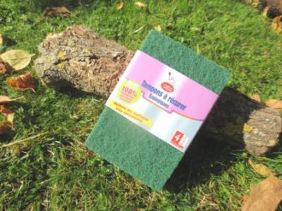 Lot 4 tampons à récurer écologiques