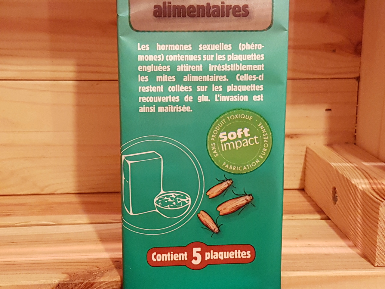 Pieges mites alimentaires 4