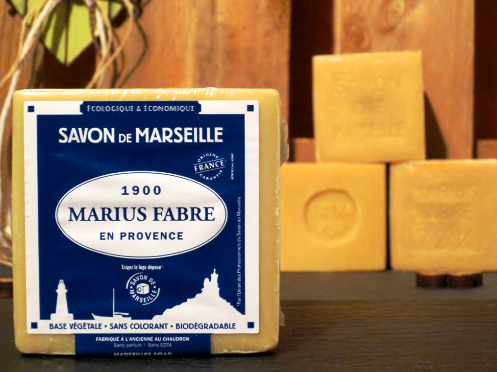Savon de marseille blanc v ritable marius fabre 400g ou 600g - Savon de marseille veritable ...