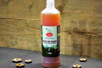 Savon noir liquide a l huile d olive bio 1 1024x683