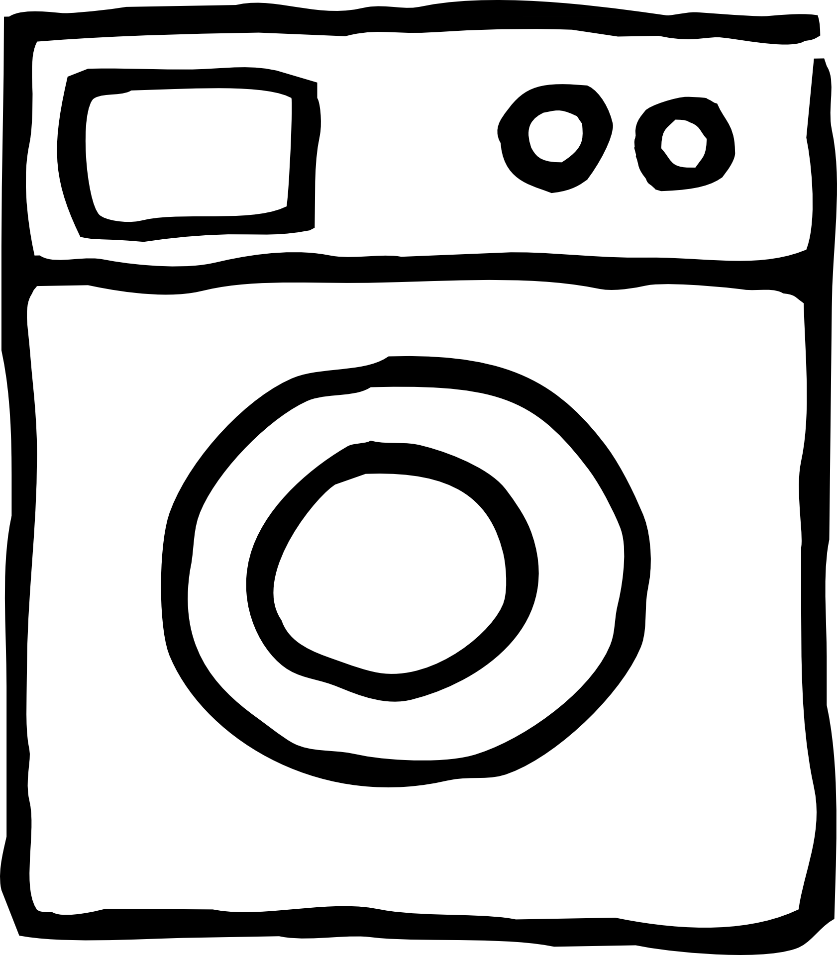 Washing machine 534746