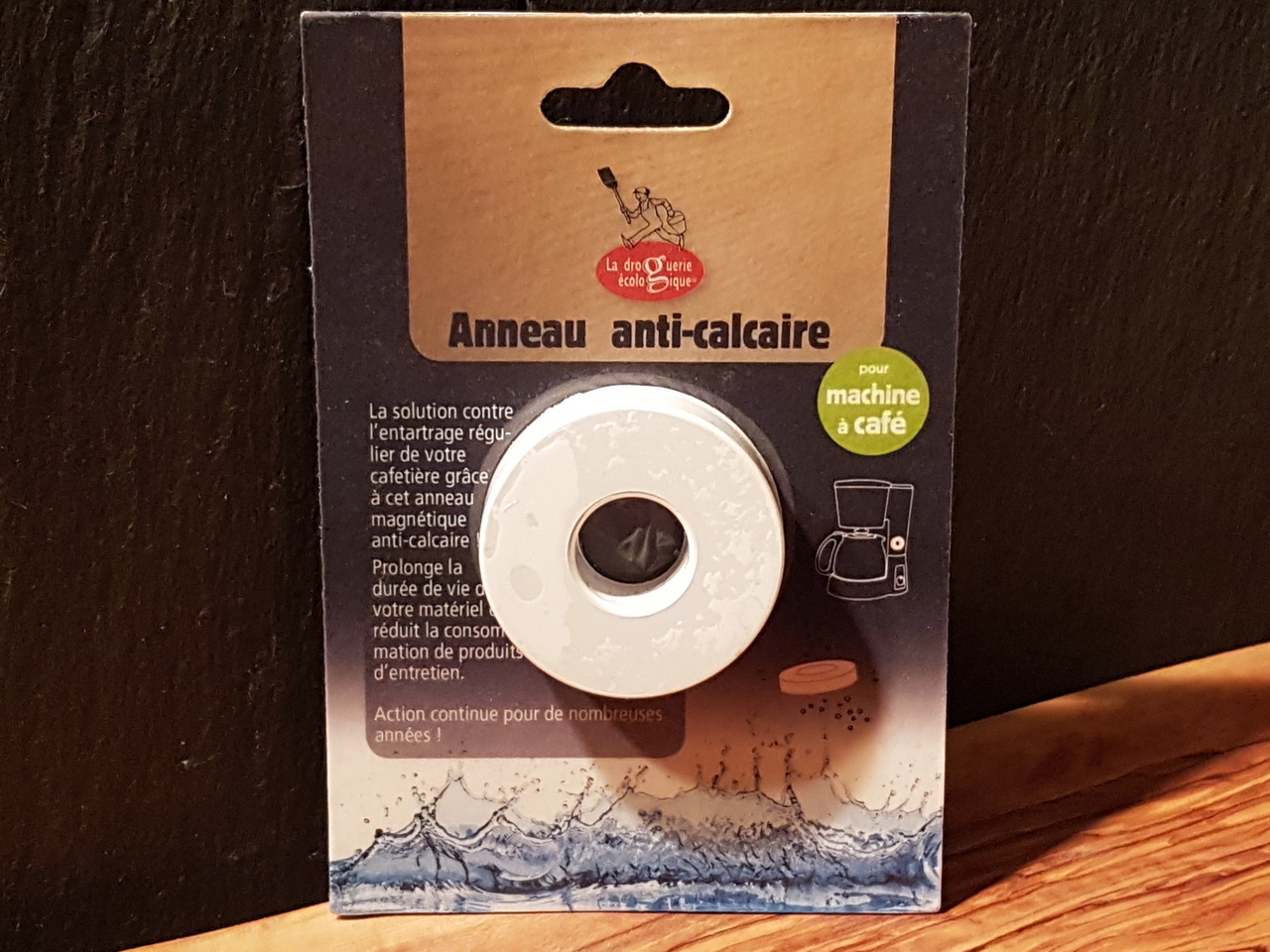 Anneau anti calcaire machine a cafe 1