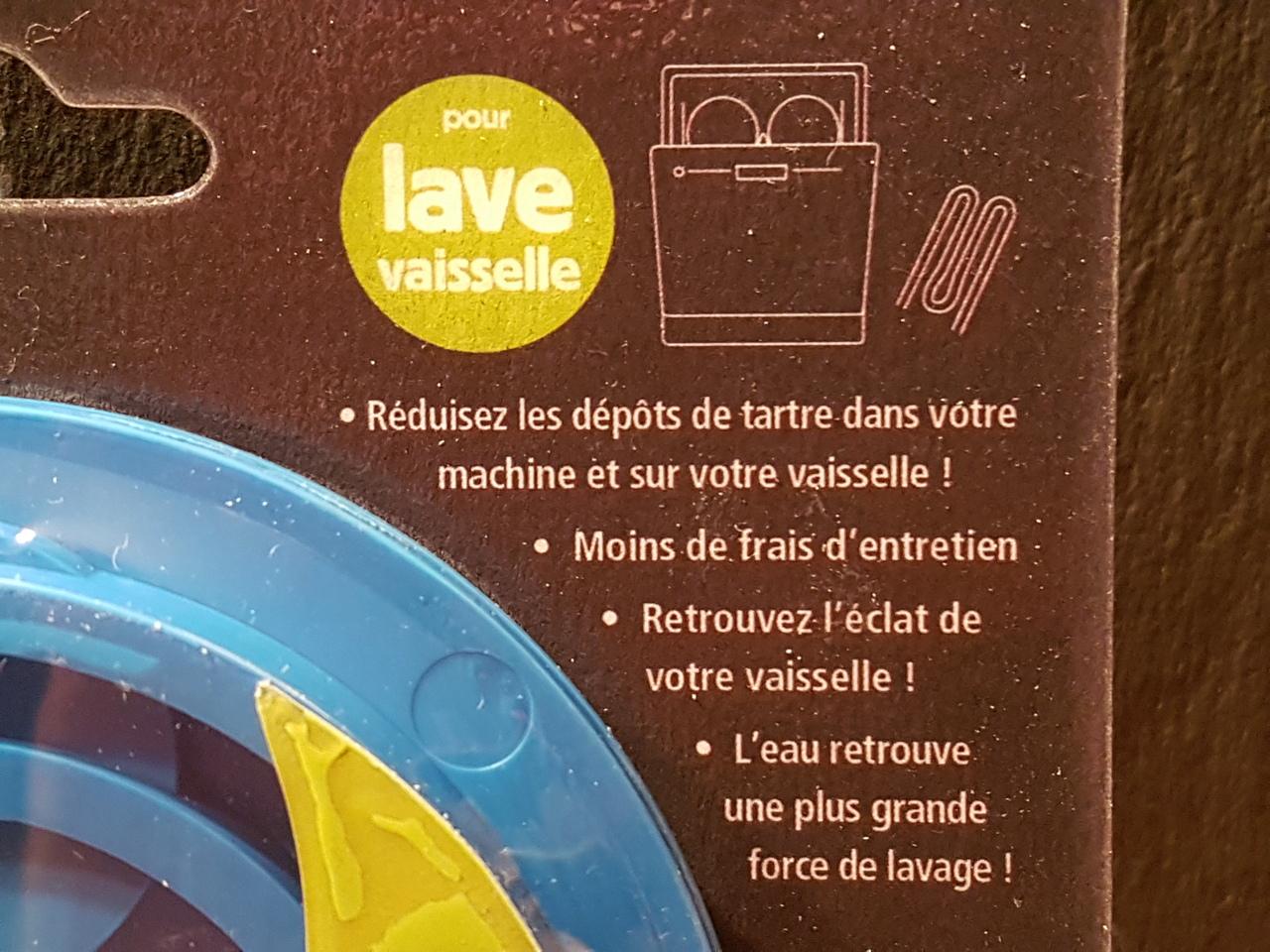 Disque anti calcaire lave vaisselle 2