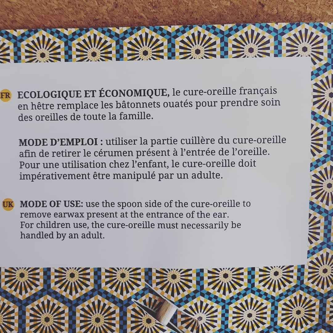 Cure oreille français en hêtre Caliquo 2