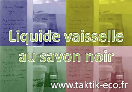 Liquide vaisselle au savon noir photo presentation 1