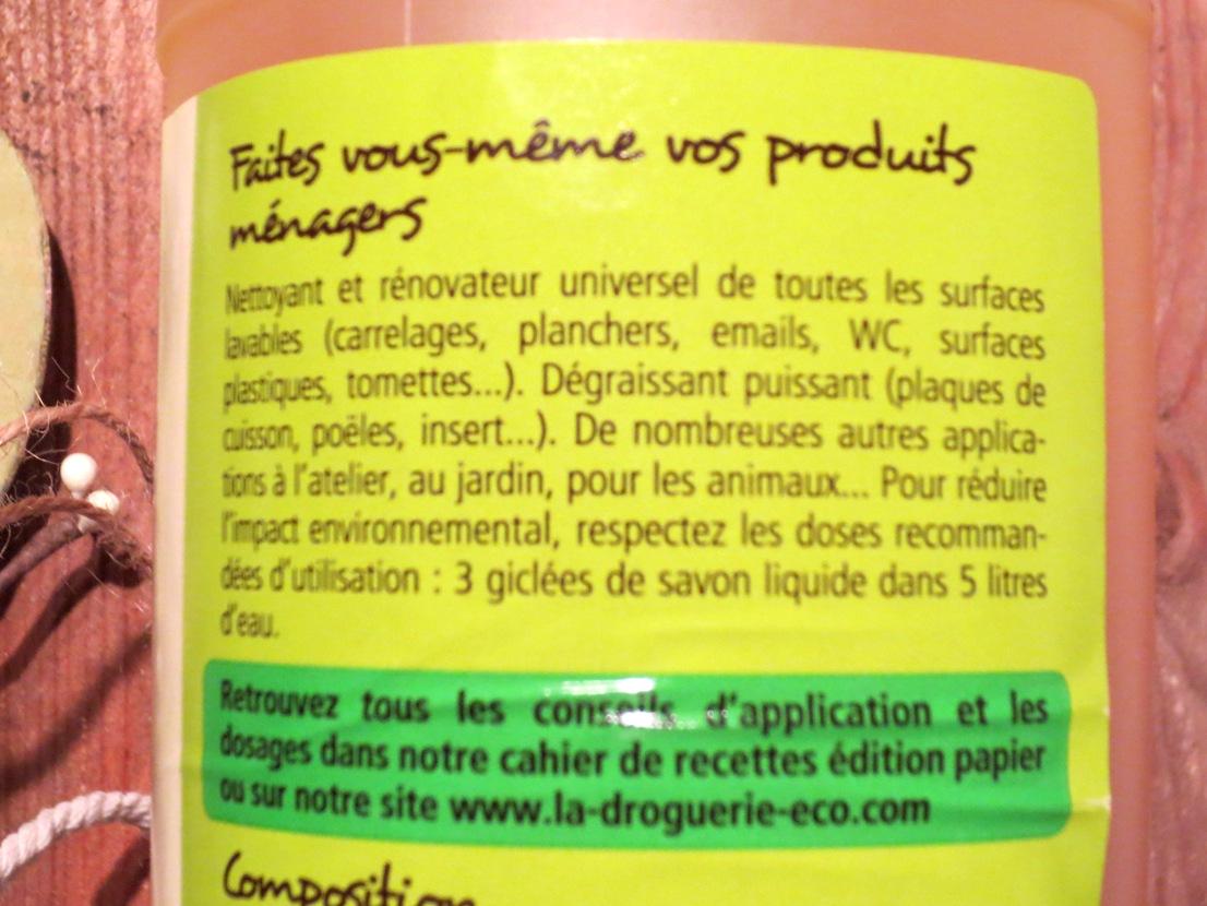 Savon noir liquide a l huile de lin bio 4